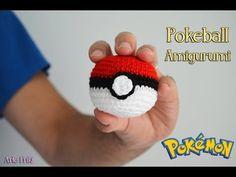 Pokeball Amigurumi Tutorial (Eng subs). Amigurumi Universe. Pokemon! - YouTube