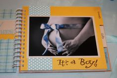 Baby Shower guest book, includes gifts & wisdom section