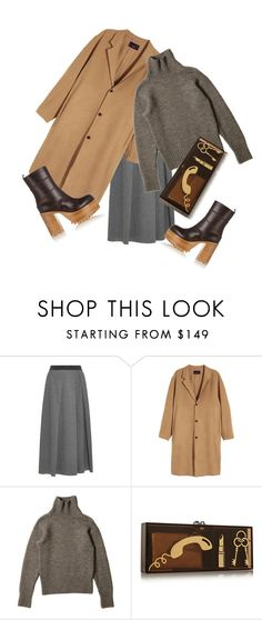 """Без названия #1759"" by sanremo ❤ liked on Polyvore featuring Weekend Max Mara, Charlotte Olympia and Marni"