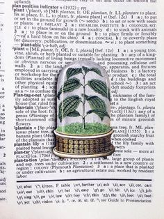 Wear your passion for plants on your sleeve (or your lapel) with this vintage-illustration brooch. #etsyfinds