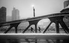 Under the bridge, by Marie Laigneau