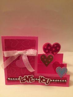 Valentine Card with Sizzix Die