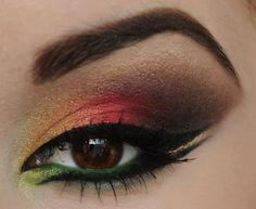 bird of paradise eye