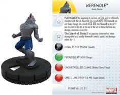 Werewolf #014 Amazing Spider-Man Marvel Heroclix - Marvel: Amazing Spider-Man - Heroclix
