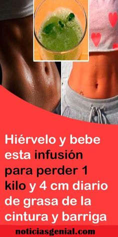 # Hervir y beber esta # infusión para perder # 1 / Detox, Healthy Drinks, Healthy Recipes, Atkins Diet, Excercise, Weight Loss Journey, Beauty Care, How To Lose Weight Fast, Healthy Living