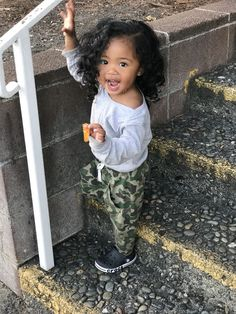 Ideas Baby Mixed Girl Daughters For 2019 Cute Mixed Babies, Cute Black Babies, Black Baby Girls, Beautiful Black Babies, Cute Little Baby, Pretty Baby, Beautiful Children, Cute Babies, Baby Swag Girl
