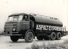 1947 DAF Commandant Asfaltexpress