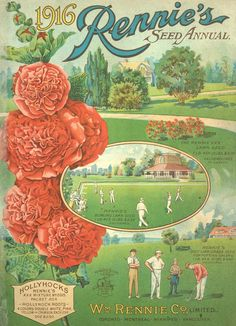 Rennie's Seeds, Toronto, ON, 1916: Seed Annual
