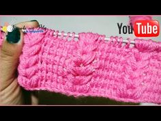 Tunisian Crochet, Fingerless Gloves, Arm Warmers, Origami, Youtube, Tricot, Bed Covers, Sweater Vests, Tejidos