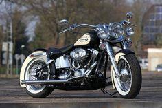 Customized Harley-Davidson Heritage Softail by Thunderbike Customs Germany