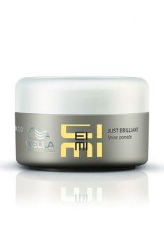Wella EIMI Just Brilliant 2.5 oz / 75ml lightweight shine pomade prevents frizz #Wella