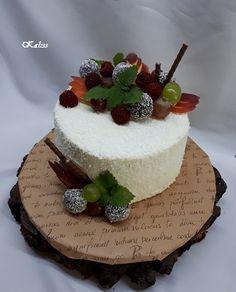biela ganache s mascarpone +kokos