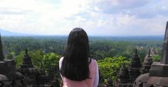 It is good to have an end to journey toward, but it is the journey that matters, in the end. — Ernest Hemingway (at Borobudur Temple - Magelang Jawa Tengah)