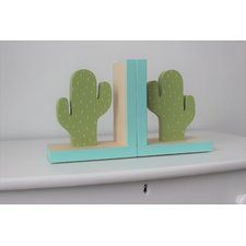 Cactus Bookends (Set of 2)