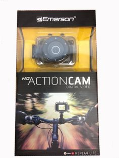 Southern Telecom Emerson Action Camera Black Digital Cameras - Listing price: $70.85 Now: $37.50