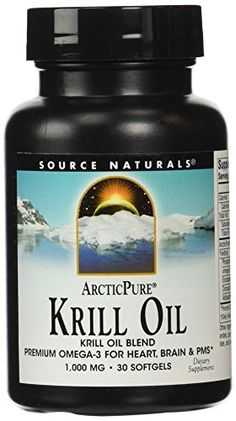 ArcticPure Krill Oil Premium Omega3 for Heart Brain and PMS ** Click image for more details.
