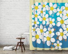 Fresh Daisies Shower Curtain