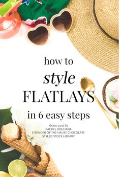Need some tips on how to use Flatlays for Instagram. Learn all the tips on flatlay in this blog post by Haute Chocolate's Rachel Rouhouna. Instagram is the best social media tool to use to gain engaged followers and essentially make sales!