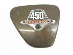 [30%-OFF!] $30.0 74 Honda CB 450 K7 Right Frame Side Cover Cb 450, Custom Motorcycle Parts, Honda Cb, Porsche Logo, Frame, Cover, Frames, A Frame, Blanket