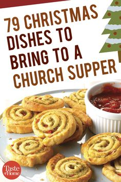 79 Christmas Dishes to Bring to a Church Supper 79 Christmas Dishes to Bring to a Church Supper Source by taste_of_home Christmas Potluck, Christmas Party Food, Christmas Dishes, Xmas Food, Christmas Cooking, Christmas Foods, Church Potluck Recipes, Potluck Dishes, Party Dishes