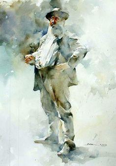 """Bhira Painting    """"Claude Monet"""""""