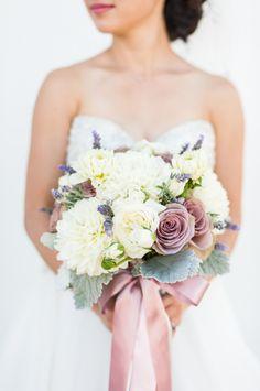 Romantic deep blush wedding bouquet: http://www.stylemepretty.com/california-weddings/pleasanton/2015/12/04/whimsical-starry-nights-inspired-wedding/   Photography: Candice Benjamin - http://www.candicebenjamin.com/