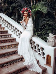 Boho Cabo Bridal Inspiration for a beach or desert wedding. Officially Quigley in Lovers Society x Green Wedding Shoes gowns. Trendy Wedding, Boho Wedding, Wedding Styles, Wedding Trends, Celtic Wedding, Wedding Ideas, Wedding Bride, Green Wedding Dresses, Green Wedding Shoes