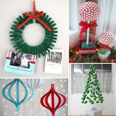 outdoor christmas decorations diy - Google Search