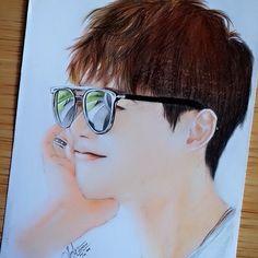 Lee Jong Suk Fanart Lee Jong Suk Cute, Lee Jung Suk, Young Male Model, Yongin, Hyung Sik, Bts Drawings, Kpop Fanart, Kimchi, Korean Actors