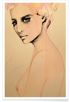 Paolo Roversi Series 2 as Premium Poster by Leigh Viner | JUNIQE