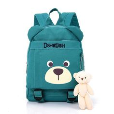 Activity & Gear Mother & Kids Cartoon Cute Bear Baby Harnesses Leashes Activity&gear Walking Anti-lost Bag For Kids Safety Plush Backpack Child School Bags High Resilience
