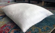 Good Life Essentials Shredded Memory Foam Pillow Review Throw Pillows, Pillow Reviews, Clarity, Memory Foam, Life Is Good, Mattress, Essentials, Cushions