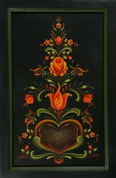 tole painting stroke work - Google Search