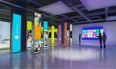 Microsoft Innovation Center on Behance