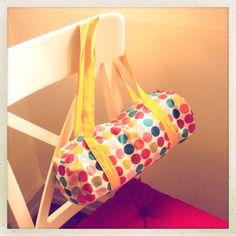 Polka dots bag Polka Dot Bags, Polka Dots, Etsy, Home Decor, Interior Design, Polka Dot, Home Interiors, Decoration Home, Polka Dot Fabric