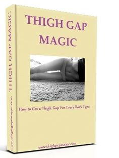 Learn how to get a #thighgap fast with this book and exclusive workout video! I love it! You have to try it!