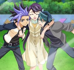 Yuto, Ruri and Shun