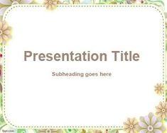 Custom PowerPoint Template PPT Template
