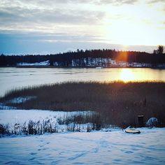 Merenlahti riitteessä #långvik #langvikhotel http://www.langvik.fi/