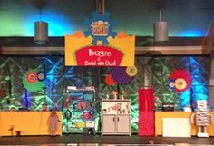 Let's Imagine and Build with God at WOW VBS! Love the use of color and fun in this scene. www.cokesburyvbs.com