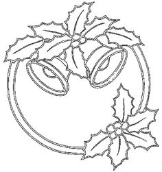 T T bells and holly ring Decorating With Christmas Lights, Christmas Decorations, Christmas Colors, Christmas Crafts, Christmas Sketch, Sketch 4, Sketchbook Drawings, Parchment Craft, Christmas Coloring Pages
