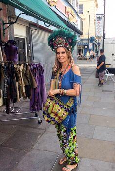 #PortobelloRoad #customer #customerphoto #headwear #feathers #featherhat #millinery #happycustomer www.saratiara.com