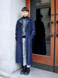 Stockholm Streetstyle by Facehunter. More #streetstyle @Nordic Style Magazine