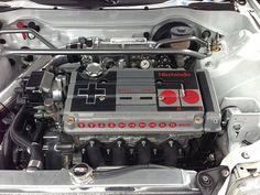 8-bits de potência: Motor de Honda Civic transformado em controle do NES? Quase isso…