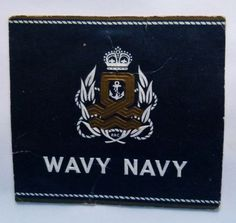 VINTAGE-CIGARETTE-PACKET-LABEL-WAVY-NAVY