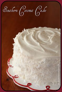 This month's installment of The Cake Slice  features Southern Coconut Cake . So far, every recipe that I've made out of Sky High: Irresistib...