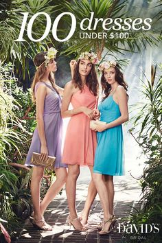 Wallet-friendly styles make for happy friends. Shop the new Spring 2016 bridesmaid collection today.