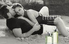 Calvin Klein Eternity Campaign: Edward Burns + Wife Christy Turlington by Inez & Vinoodh