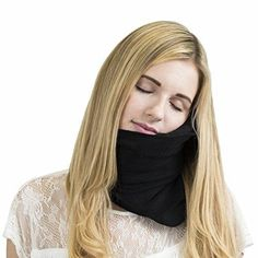 Turlte Pillow Super Soft Neck Support Travel Posture Machine Long Washable Black #TurtlePillowSuper