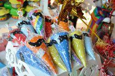 Cones coloridos de EVA